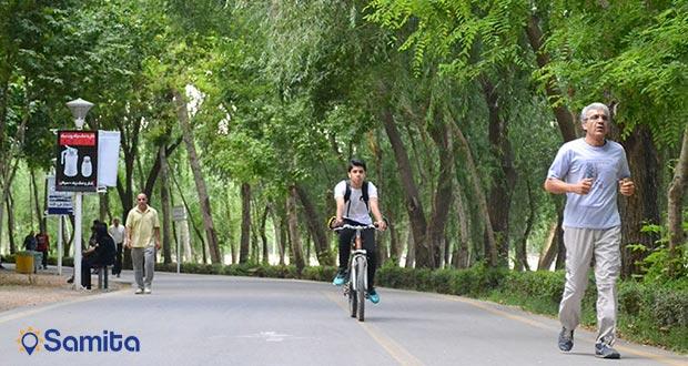 جاده سلامت پارک ناژوان اصفهان