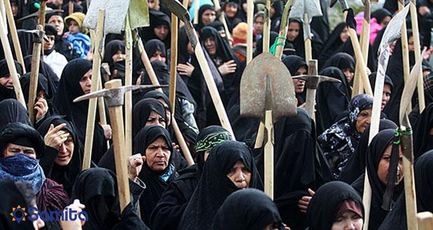 آیین بیل زنی زنان قزوین