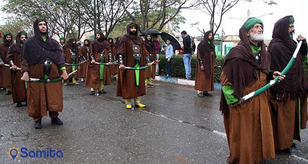 مراسم عزاداری نوش آباد