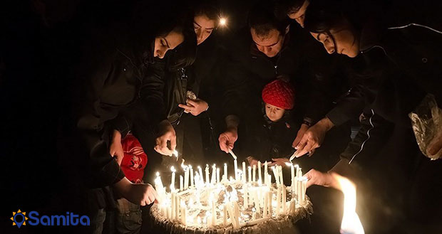 آیین شمع گردانی اردیبل