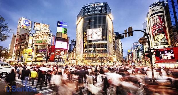 نظاره گر هیاهوی توکیو باشید