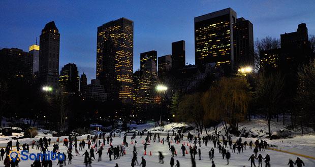اسکی روی یخ در نیویورک