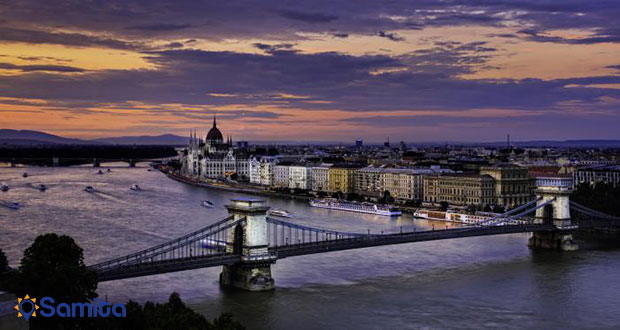 نمایی از بوداپست