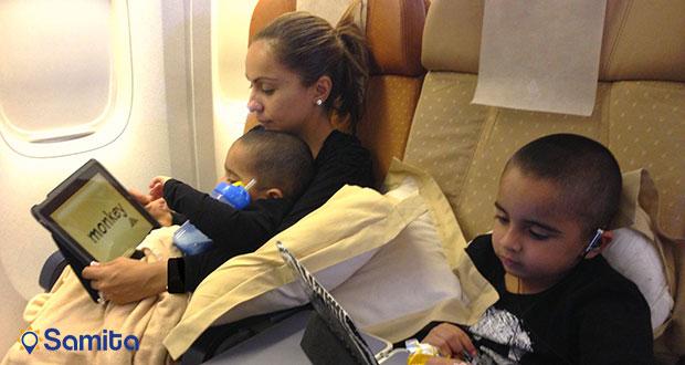 نکات درسفر هوایی با کودکان